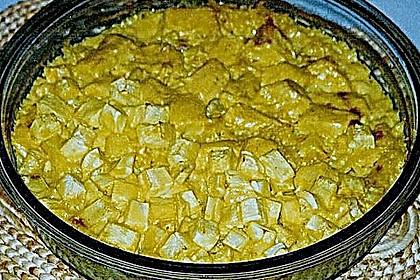 Limetten - Kokosmilch Hähnchen auf Basmatireis 6