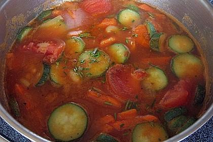 Italienische Bohnensuppe 1