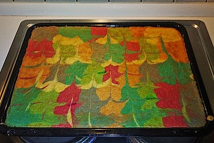 Schneller Zitronenkuchen auf dem Blech 9