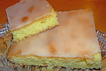 Schneller Zitronenkuchen auf dem Blech 12