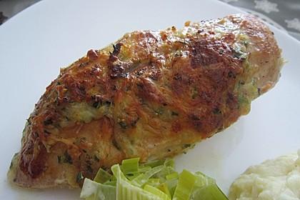 Hühnerbrustfilet mit Kräuter - Käsekruste 1