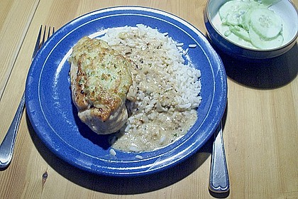 Hühnerbrustfilet mit Kräuter - Käsekruste 6