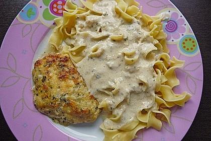 Hühnerbrustfilet mit Kräuter - Käsekruste 3