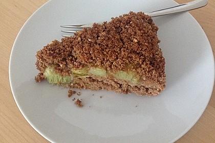 Rhabarber - Streusel Kuchen auf Quark - Öl Teig 19