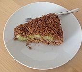 Rhabarber - Streusel Kuchen auf Quark - Öl Teig