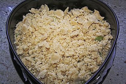 Rhabarber - Streusel Kuchen auf Quark - Öl Teig 10