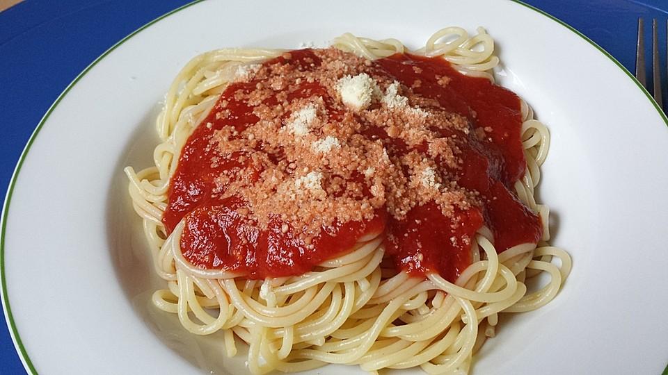 spaghetti mit tomatensauce von silverl. Black Bedroom Furniture Sets. Home Design Ideas