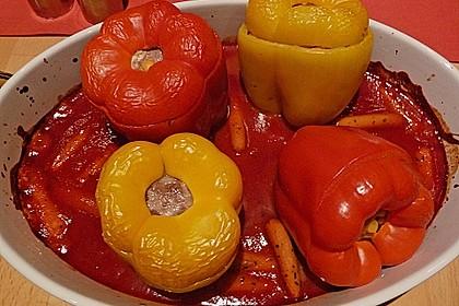 Gefüllte Paprika (leicht) 1