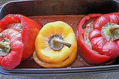 Gefüllte Paprika (leicht) 2