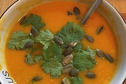 Kürbissuppe mit Ingwer und Kokosmilch 118