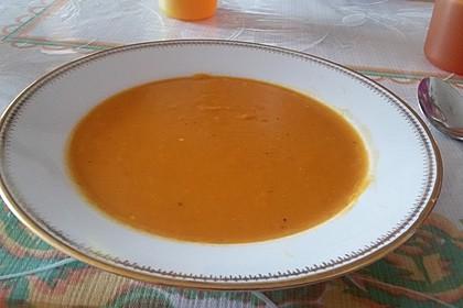 Kürbissuppe mit Ingwer und Kokosmilch 73