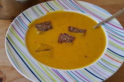 Kürbissuppe mit Ingwer und Kokosmilch 71