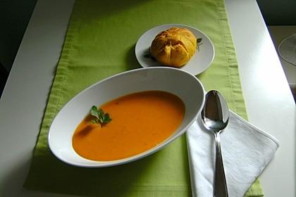 Kürbissuppe mit Ingwer und Kokosmilch 116