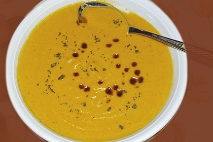 Kürbissuppe mit Ingwer und Kokosmilch 144