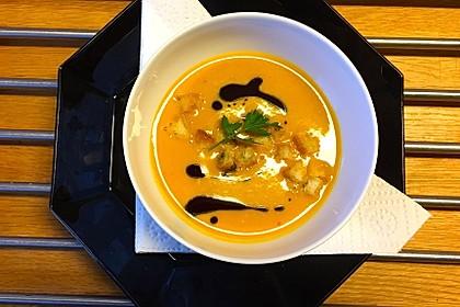 Kürbissuppe mit Ingwer und Kokosmilch 7