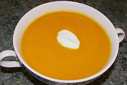 Kürbissuppe mit Ingwer und Kokosmilch 100