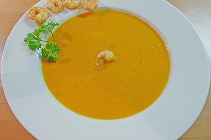 Kürbissuppe mit Ingwer und Kokosmilch 56