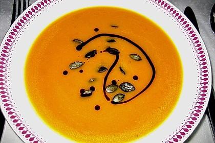 Kürbissuppe mit Ingwer und Kokosmilch 23