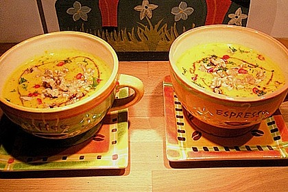 Kürbissuppe mit Ingwer und Kokosmilch 154