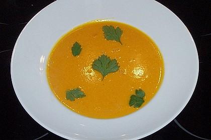 Kürbissuppe mit Ingwer und Kokosmilch 82