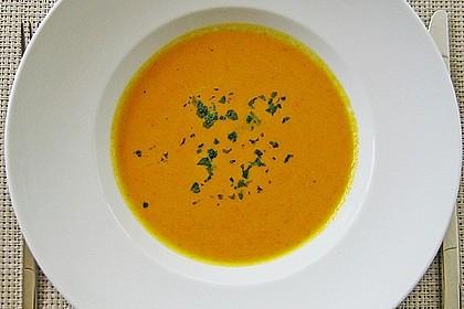 Kürbissuppe mit Ingwer und Kokosmilch 52