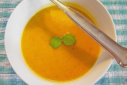 Kürbissuppe mit Ingwer und Kokosmilch 88