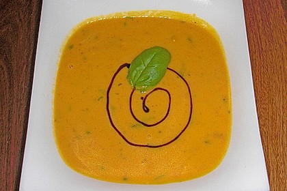 Kürbissuppe mit Ingwer und Kokosmilch 13