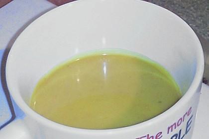 Kürbissuppe mit Ingwer und Kokosmilch 220