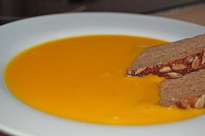 Kürbissuppe mit Ingwer und Kokosmilch 29