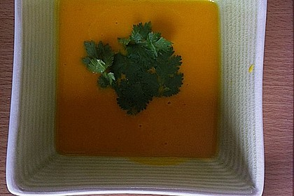 Kürbissuppe mit Ingwer und Kokosmilch 174