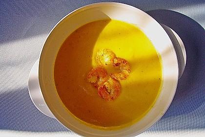 Kürbissuppe mit Ingwer und Kokosmilch 47