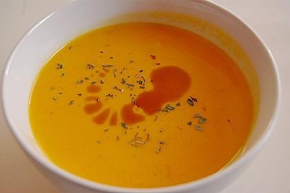 Kürbissuppe mit Ingwer und Kokosmilch 39