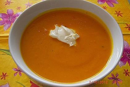 Kürbissuppe mit Ingwer und Kokosmilch 22