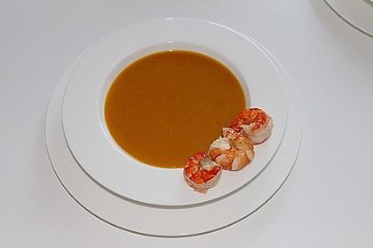 Kürbissuppe mit Ingwer und Kokosmilch 15