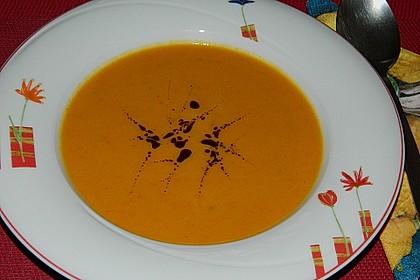 Kürbissuppe mit Ingwer und Kokosmilch 8