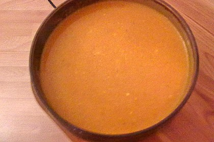 Kürbissuppe mit Ingwer und Kokosmilch 204