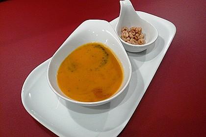 Kürbissuppe mit Ingwer und Kokosmilch 11