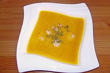 Kürbissuppe mit Ingwer und Kokosmilch 55
