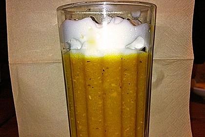 Kürbissuppe mit Ingwer und Kokosmilch 135