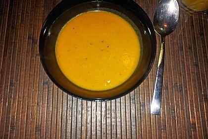 Kürbissuppe mit Ingwer und Kokosmilch 212