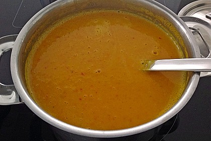 Kürbissuppe mit Ingwer und Kokosmilch 161