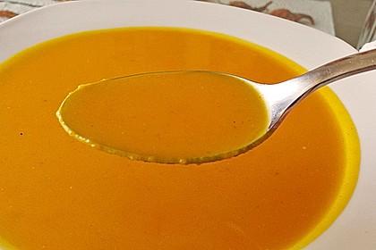 Kürbissuppe mit Ingwer und Kokosmilch 57