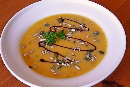 Kürbissuppe mit Ingwer und Kokosmilch 17