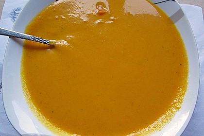 Kürbissuppe mit Ingwer und Kokosmilch 139