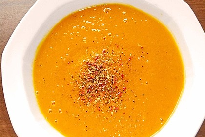 Kürbissuppe mit Ingwer und Kokosmilch 48