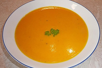 Kürbissuppe mit Ingwer und Kokosmilch 46