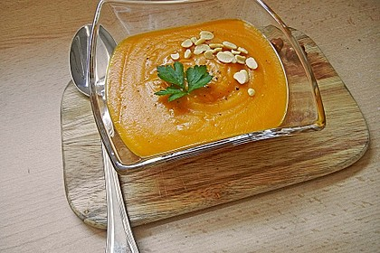 Kürbissuppe mit Ingwer und Kokosmilch 34