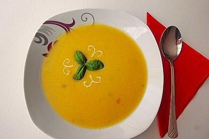 Kürbissuppe mit Ingwer und Kokosmilch 44