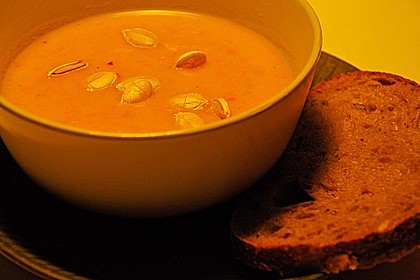 Kürbissuppe mit Ingwer und Kokosmilch 60