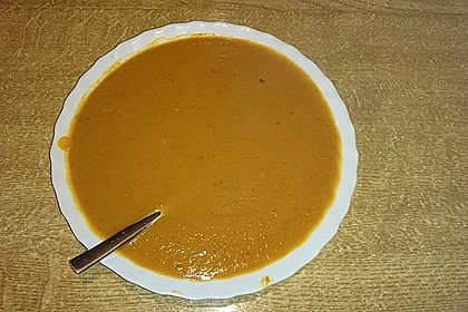 Kürbissuppe mit Ingwer und Kokosmilch 198